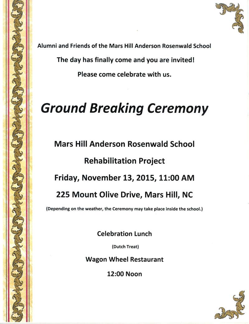 Groundbreaking ceremony invitation sample newsinvitation groundbreaking ceremony invitation sample invitationjdi co maxwellsz