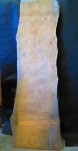 "#23. Monterey Cypress (22W"" (small end), 28""W (big end) x 84""L x 3.75""T) $875"