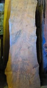 "#65. Monterey Cypress (27""W (small end), 36""W (big end) x 102""L x 3.75""T) $648"