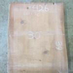 """#426 (lot#20). Redwood (39""""L x 30""""W x 3.125""""T) $450"""