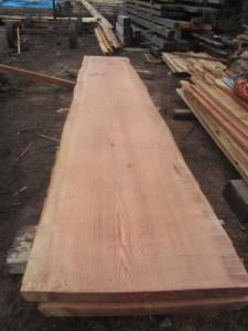 """#501. Redwood (40""""W x 202""""L x 2.75""""T) $3,394"""