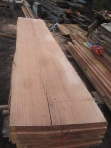 """#504. Redwood (41""""W x 202""""L x 2.75""""T) $3,479"""