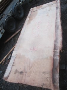 "#512 (lot #2). Redwood (107""L x 46""W x 3""T) $2,255"