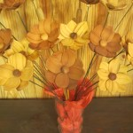 Salvaged Redwood Flowers, $5 ea.