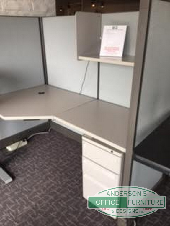 Herman Miller 6 X 76 Work Station Andersons Office Furniture