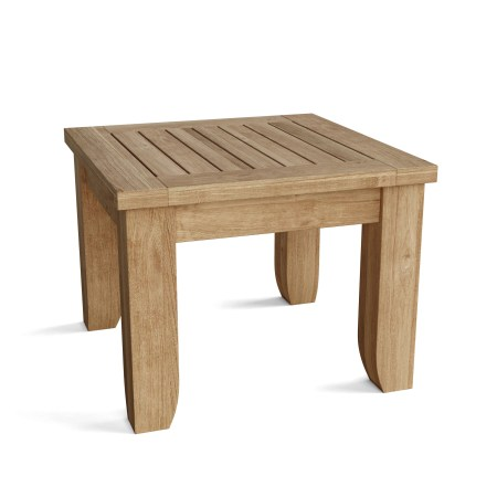 """Riviera 22"""" Square Side Table"""