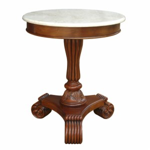 Bella Marble Top Side Table