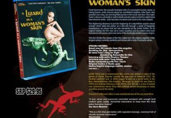 A LIZARD IN A WOMAN'S SKIN hits BLU-RAY for the first time in America. 17