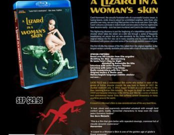 A LIZARD IN A WOMAN'S SKIN hits BLU-RAY for the first time in America. 68