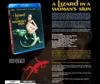 A LIZARD IN A WOMAN'S SKIN hits BLU-RAY for the first time in America. 44
