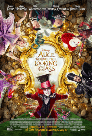 DISNEY'S ALICE THROUGH THE LOOKING GLASS has a new TV Spot. 1