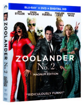 ZOOLANDER NO. 2: THE MAGNUM EDITION hits the catwalk on Blu-ray Combo Pack May 24th, Digital HD May 3rd 3
