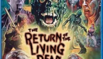 THE RETURN OF THE LIVING DEAD 2-Disc Collector's Edition BD set - lands on home ent. shelves July 19 3