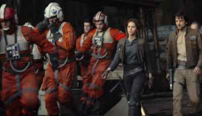 ROGUE ONE gets a trailer. 11