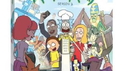 Adult Swim's Rick and Morty: The Complete Second Season Gets Schwifty on Blu-ray™ and DVD on June 7 9