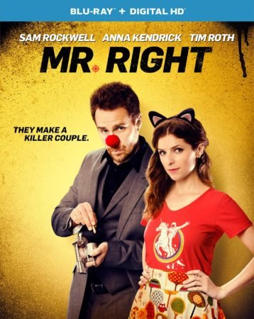 MR. RIGHT on Blu-Ray and DVD June 7 and Now Available on Digital HD 1