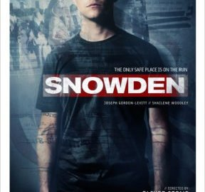 SNOWDEN gets an official trailer and poster! Check out the voice on JGL. 58