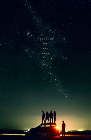 The Power Rangers live-action film gets a new teaser poster 1
