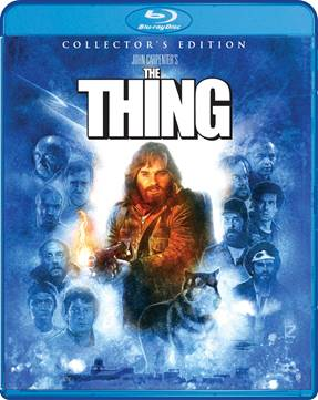 John Carpenter's iconic masterpiece THE THING 2-Disc Collector's Edition Blu-ray set. Full details with special offers! 1