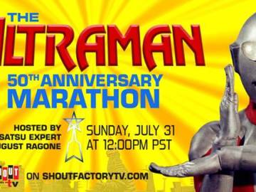 The Ultraman 50th Anniversary Marathon Streaming Live July 31st on Shout! Factory TV 33