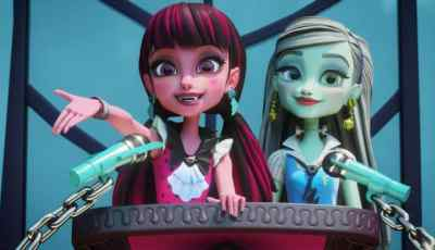 Welcome to Monster High™ Debut / Partnership with Lady Gaga's Born This Way Foundation 2