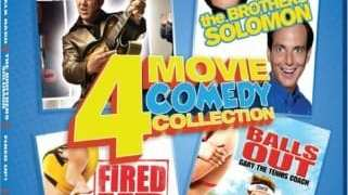 COMEDY 4 IN 1: WALK HARD/THE BROTHERS SOLOMON/FIRED UP!/BALLS OUT 15
