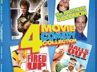 COMEDY 4 IN 1: WALK HARD/THE BROTHERS SOLOMON/FIRED UP!/BALLS OUT 27