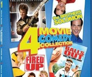 COMEDY 4 IN 1: WALK HARD/THE BROTHERS SOLOMON/FIRED UP!/BALLS OUT 49