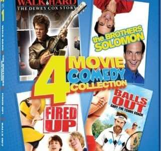 COMEDY 4 IN 1: WALK HARD/THE BROTHERS SOLOMON/FIRED UP!/BALLS OUT 19