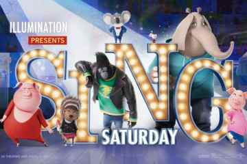 """ILLUMINATION ENTERTAINMENT, UNIVERSAL PICTURES AND AMC THEATRES® ANNOUNCE THANKSGIVING WEEKEND'S FREE """"SING SATURDAY"""" 16"""