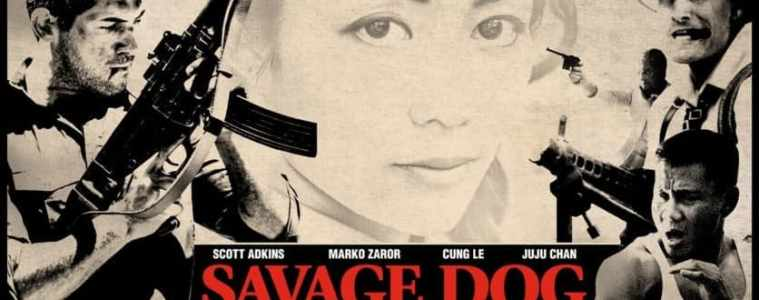 "Martial Arts Action star sensation Scott Adkins is back in ""Savage Dog"" 3"
