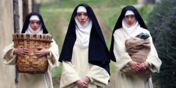 Dave Franco, Aubrey Plaza, Alison Brie in THE LITTLE HOURS | In Theaters June 30th 5