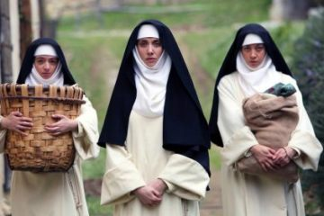 Dave Franco, Aubrey Plaza, Alison Brie in THE LITTLE HOURS | In Theaters June 30th 12