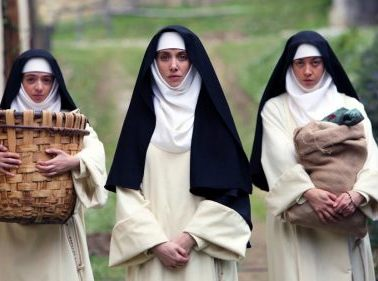 Dave Franco, Aubrey Plaza, Alison Brie in THE LITTLE HOURS   In Theaters June 30th 11