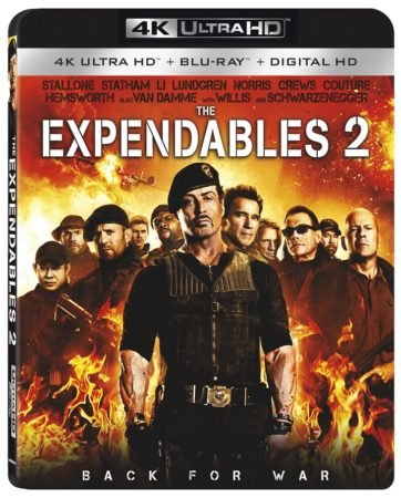 EXPENDABLES 2, THE (4K UHD) 1