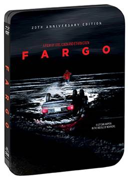 Fargo (20th Anniversary Edition Steelbook) arrives from Shout Factory on August 8th. 1