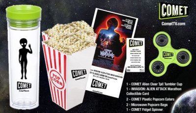 Alien Attack Movie Marathon COMET TV Giveaway! July 4th Prepare To Be Invaded 7