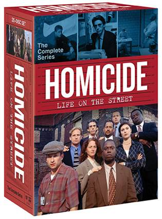 HOMICIDE: LIFE ON THE STREET THE COMPLETE SERIES 35-DVD box set hits shelves on July 4. 5