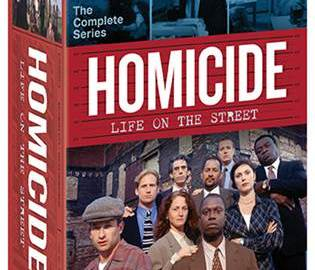HOMICIDE: LIFE ON THE STREET THE COMPLETE SERIES 35-DVD box set hits shelves on July 4. 17