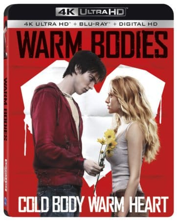 WARM BODIES arrives on 4K Ultra HD Combo Pack on October 3 3