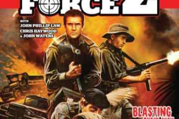 Attack Force Z 35th anniversary edition staring Mel Gibson on Blu-ray 11/7 23