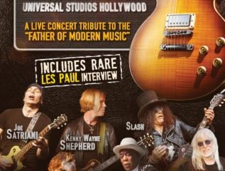 TRIBUTE TO LES PAUL, A: LIVE FROM UNIVERSAL STUDIOS HOLLYWOOD 12
