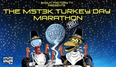 "Celebrate Turkey Day with the 2017 ""Mystery Science Theater 3000"" Turkey Day Marathon on Shout! Factory TV! 3"