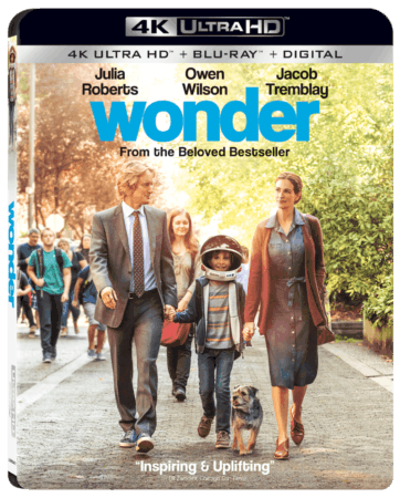 WONDER Arrives on Digital January 30 and 4K Ultra HD Combo Pack, Blu-ray Combo Pack, DVD, and On Demand February 13 3