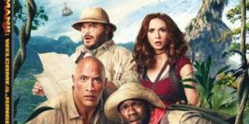 JUMANJI: WELCOME TO THE JUNGLE Available on Digital 3/6, Blu-ray and DVD 3/20 5