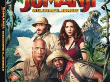 JUMANJI: WELCOME TO THE JUNGLE Available on Digital 3/6, Blu-ray and DVD 3/20 36