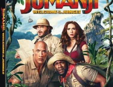 JUMANJI: WELCOME TO THE JUNGLE Available on Digital 3/6, Blu-ray and DVD 3/20 14