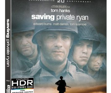 SAVING PRIVATE RYAN debuts on 4K Ultra HD/Blu-ray Combo Pack May 8th 19