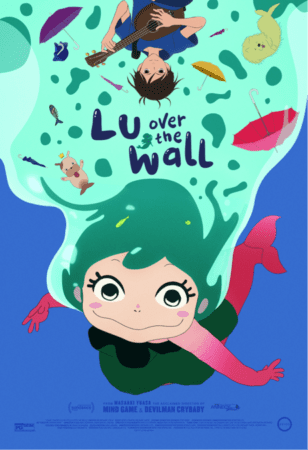 Masaaki Yuasa's LU OVER THE WALL In Theaters Nationwide May 11th! Watch the trailer! 3