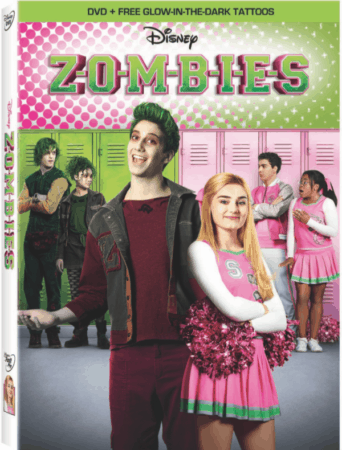 Disney's ZOMBIES on DVD on April 24th! 1